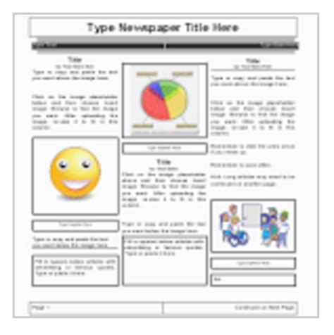 5 Handy Google Docs Templates For Creating Classroom Newspaper Templates For Docs