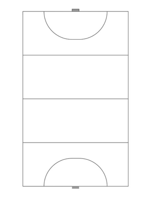diagram of a hockey pitch sports notebooks for coaching and
