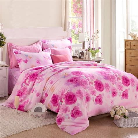 cute girly comforter sets pink and pale pink girly themed modern chic 100 organic cotton