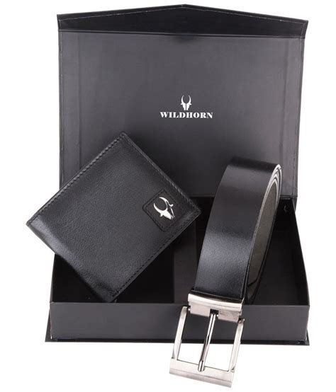 Black Walet Box wildhorn trendy combo of black wallet belt in a box buy at low price in india snapdeal