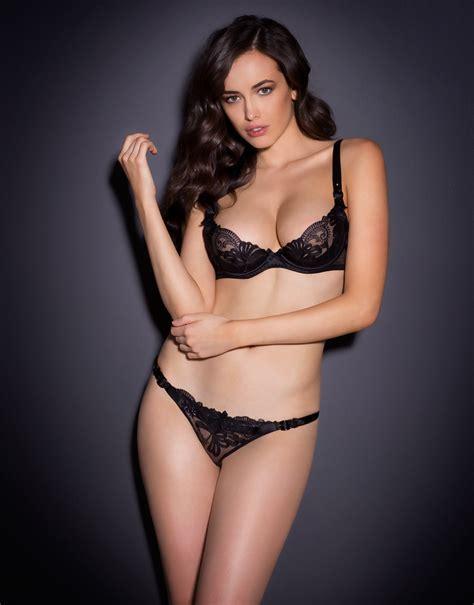 Sarah Stephens Models Agent Provocateur S New Collection   sarah stephens agent provocateur lingerie 2014 69 gotceleb