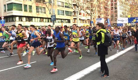 barcelona half marathon ben connor and luke traynor star at barcelona half