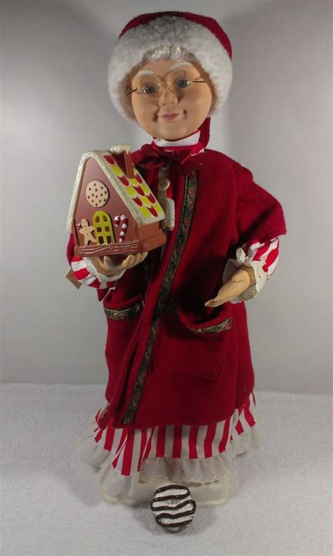 vintage motionette 27 santa clause vintage telco animated mrs santa claus 24 quot motionette non work favorites