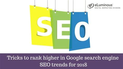 seo 2018 the new era of seo the most effective strategies for ranking 1 on in 2018 the new era of marketing books tricks to rank higher in search engine seo trends