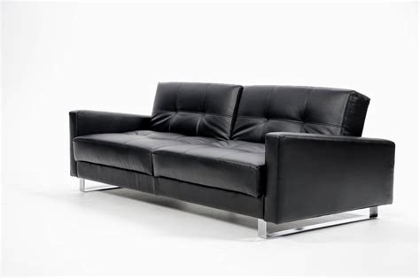 Black Leather Sofa Black Sofa Leather