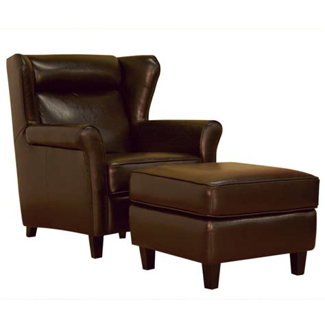 brown chair with ottoman object moved