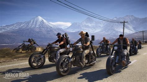 road live ghost recon wildlands narco road live on consoles for