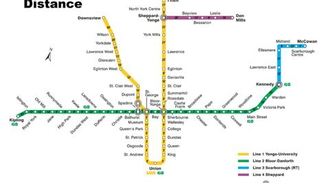 printable map toronto subway an answer to the question is it better to walk or take