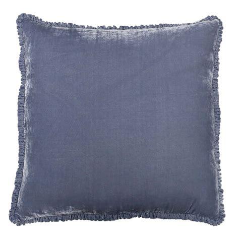 Square Velvet Silk Ashwell Silk Velvet Throw And Square Shams