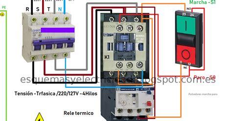 un contactor a botoneras esquemas el ctricos apexwallpaperscom conectar contactor a botoneras esquemas el 233 ctricos