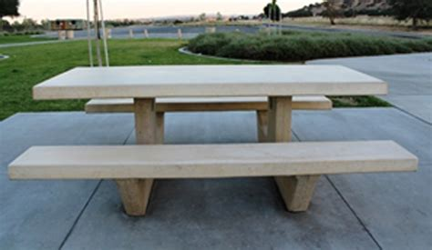 cement tables cement picnic table 8