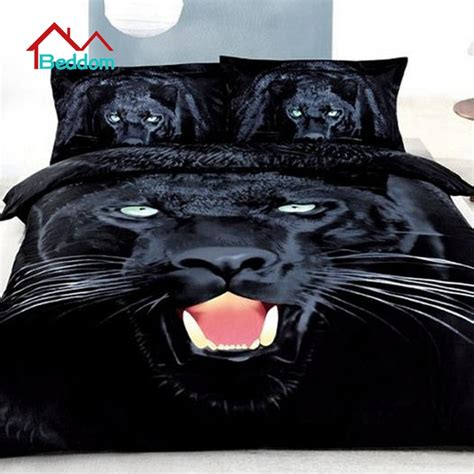 Discount Duvet Cover Sets Online Get Cheap Black Panther Bedding Aliexpress Com