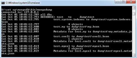 tutorialspoint list mongodb create backup