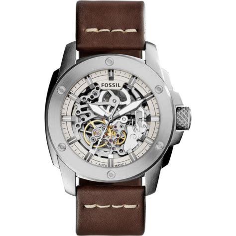 montre fossil me3083 montre automatique cuir homme sur bijourama montre homme pas cher en ligne