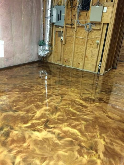 Another dynamic epoxy floor by Sierra Concrete Arts