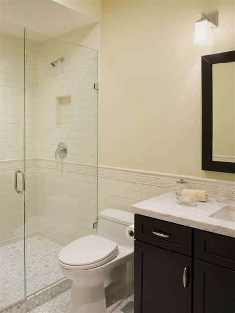 Small Bathroom Wallpaper Ideas by Tile Behind Toilet Houzz