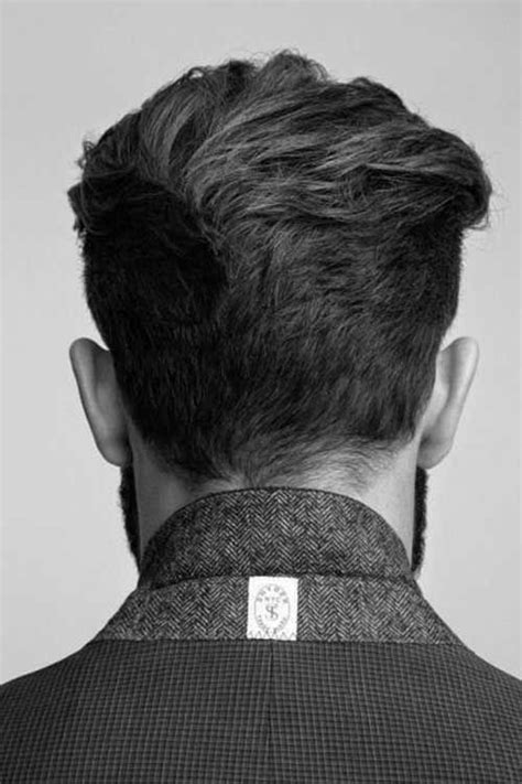 back of head hair styles for men back view of short haircuts for men david s head