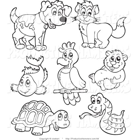 Pets Coloring Page free bird pet coloring pages
