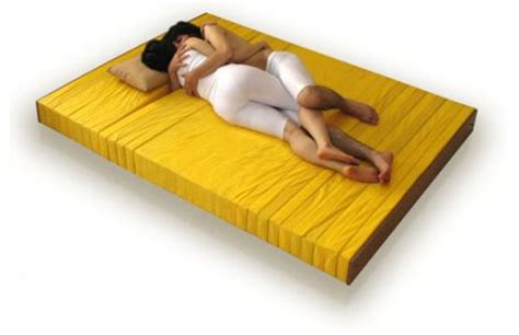 Sleeping Mattress by Modular Mattress Made For Cuddly Couples