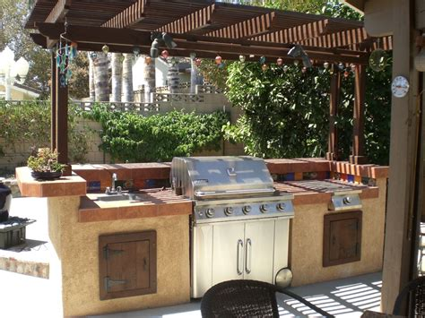 build a backyard barbecue