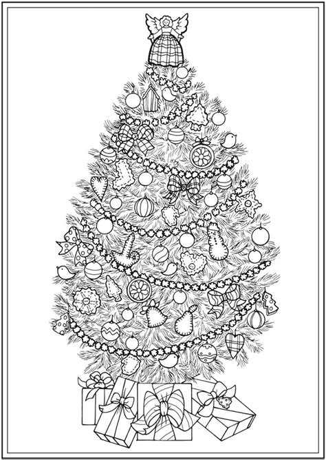 creative trees of coloring book books welcome to dover publications