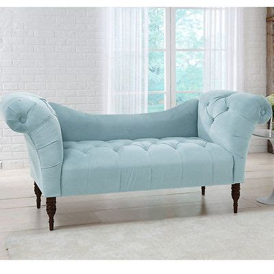 bedroom loveseat settee loveseat bedroom bench powder baby blue velvet