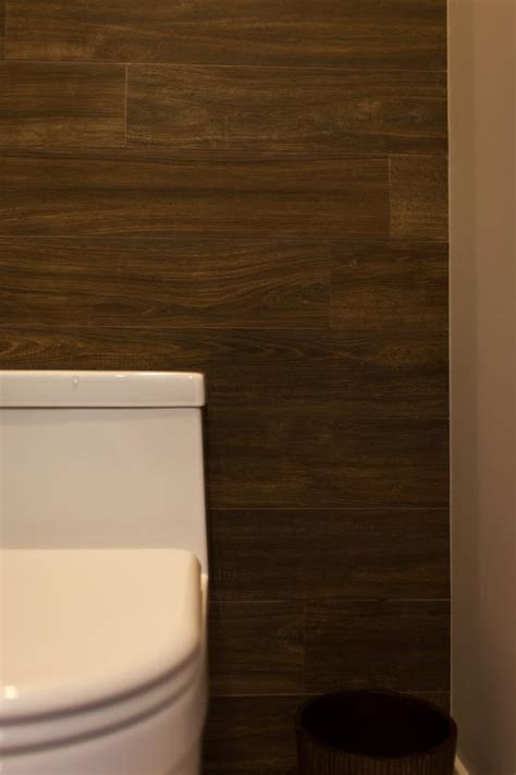 wood accent wall bathroom photo page hgtv