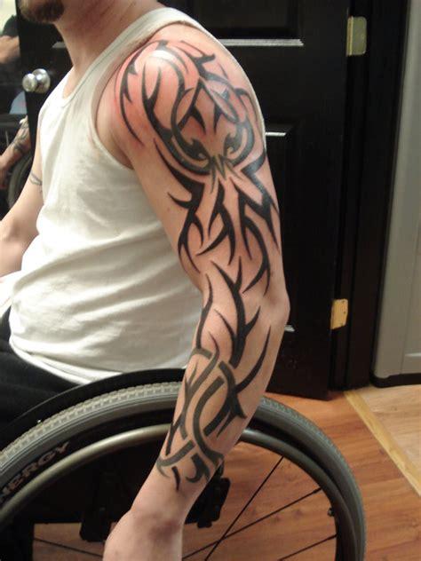 full arm tribal tattoo designs 32 amazing tribal sleeve tattoos