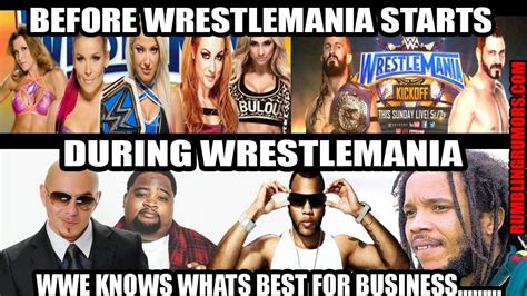 Wrestlemania Meme - wrestlemania 33 meme that shows what we think about the