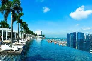 Singapore Infinity Pool Infinite Pool Hotel Marina Bay Sands Singapore Wallpapers9
