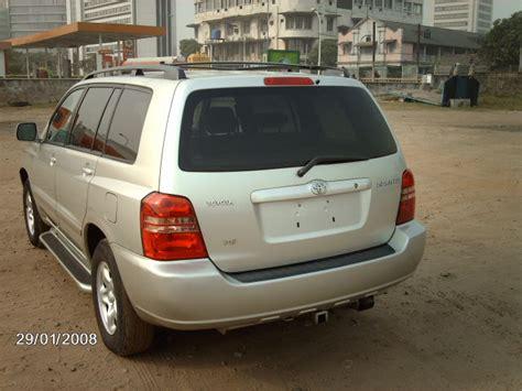 Toyota Highlander Air Conditioning Problems 2003 Toyota Highlander Suv Toks 2 1million Autos Nigeria