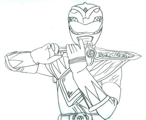 mighty morphin power rangers colouring pages murderthestout