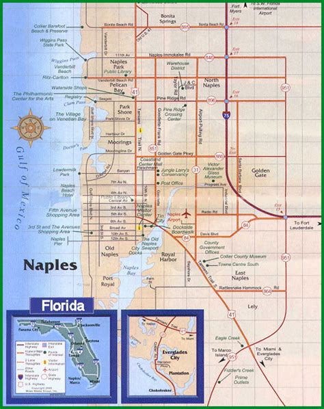 naples florida map naples florida vacation rentals rentals by owner
