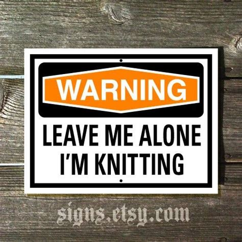 knitting signs knitting are