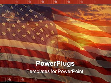 Best Photos Of Eagle Theme Powerpoint Template Free American Eagle Powerpoint Templates Patriotic Powerpoint Templates Free