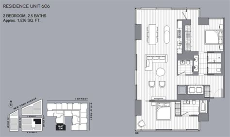 City Center Floor Plan by New Dc Condos At City Center Floorplans And Pricing