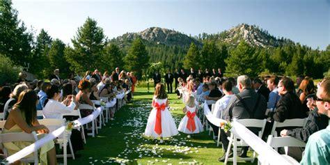 Wedding Venues Lake Tahoe by Lake Tahoe Golf Course Weddings Get Prices For Wedding