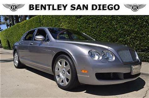 bentley san diego buy used 2006 bentley flying spur 28k silver