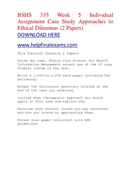 Biblical Studies Research Paper Topics by Ethical Dilemma Essay Ideas