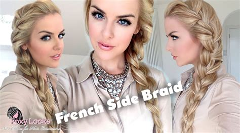 how to big french side braid youtube how to big french side braid youtube