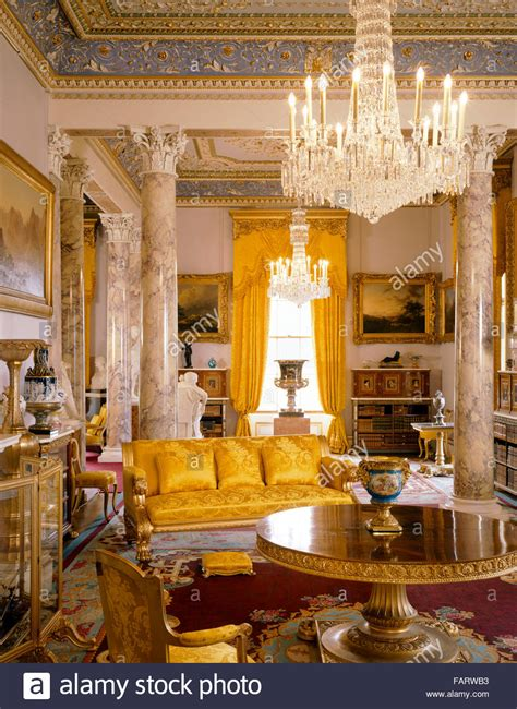buy house isle of wight osborne house isle of wight interior view the drawing room stock photo royalty