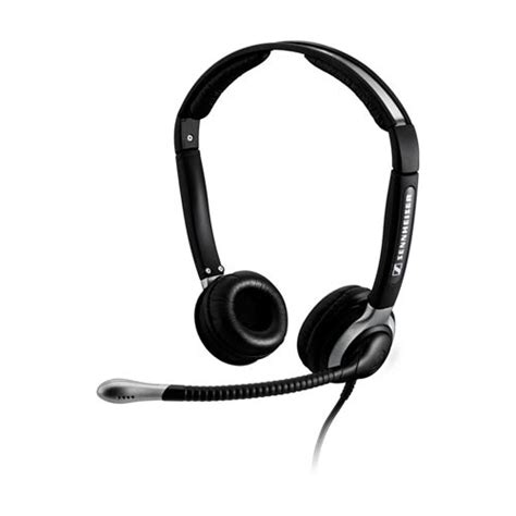 Headset For Phone sennheiser cc 520 corded binaural telephone headset