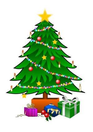 clipart christbaum weihnachtsbaum mit geschenken vektor clipart kostenlose vector kostenloser
