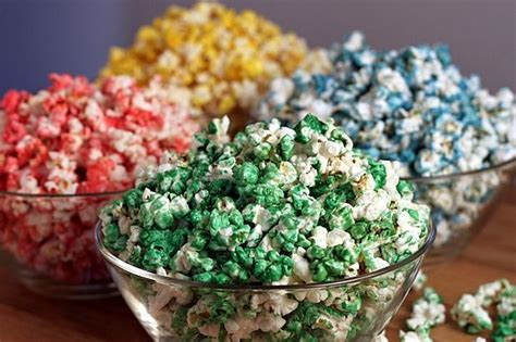 how to color popcorn colored microwave popcorn family crafts