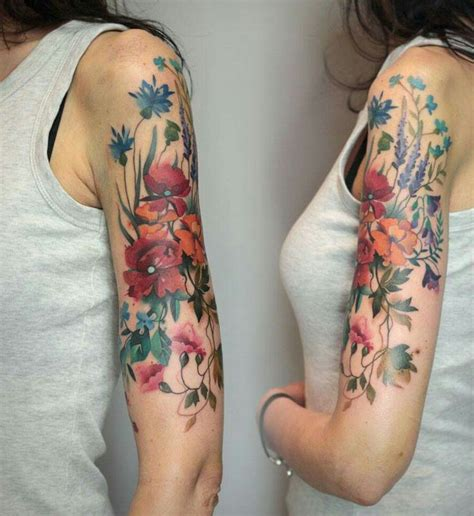 feminine tattoo sleeves best 25 feminine sleeve tattoos ideas on