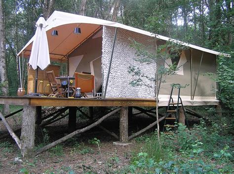 tent platform platform tent house beautiful pinterest