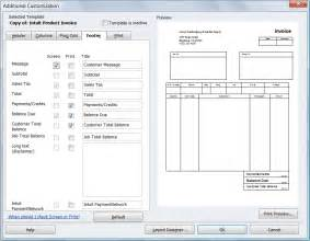 Quickbooks Invoice Templates by How To Add Footer Fields To Quickbooks Invoice Template