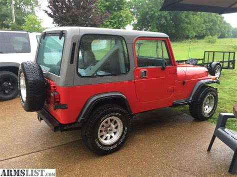 Jeep Wrangler 89 Armslist For Sale Trade 89 Jeep Wrangler