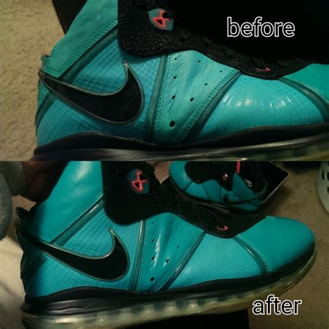 angelus paint miami help lebron 8 south fix sole collector forums