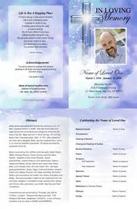 Free Funeral Program Templates by Best Photos Of Printable Funeral Program Templates